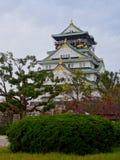 Opini?n Osaka Castle hermoso imagen de archivo