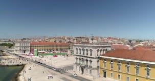 Opini?n a?rea de Lisboa almacen de metraje de vídeo
