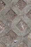 Opini?nes cercanas detalladas sobre las calles y las aceras del guijarro en perspectivas distintas fotos de archivo