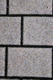 Opini?nes cercanas detalladas sobre las calles y las aceras del guijarro en perspectivas distintas fotos de archivo libres de regalías