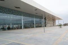 Opini?o lateral do esta??o de caminhos de ferro de Rabat Agdal imagens de stock