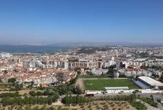 Opinión aérea de Lisboa Fotos de archivo libres de regalías