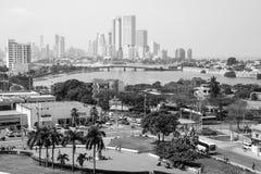 Opinión de Cartagena Fotografía de archivo libre de regalías