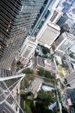 Opinión de Hong-Kong Fotos de archivo libres de regalías