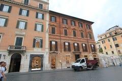 Opinión de la calle de Italia Roma Fotos de archivo libres de regalías