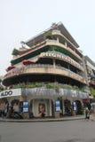 Opinión de la calle de Vietnam Hanoi Fotos de archivo libres de regalías