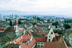Opinión de la ciudad Imagenes de archivo