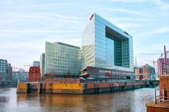 Opinión de la ciudad de Hamburgo, Alemania Fotografía de archivo libre de regalías