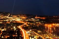 Opinión de la ciudad de Toronto de la torre del NC Foto de archivo