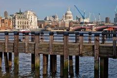 Opinión de Londres Imagen de archivo libre de regalías