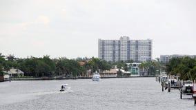 Opinión de perspectiva intercostera de la Florida del puente Imagen de archivo