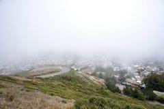 Opinión de San Francisco de picos gemelos Foto de archivo
