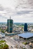 Opinión de Varsovia Imagen de archivo