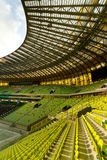Opinión del estadio de la arena de PGE Imagen de archivo libre de regalías
