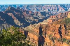 Opinión del norte del borde de Grand Canyon Fotografía de archivo