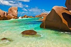 Opinión del paisaje marino Foto de archivo libre de regalías