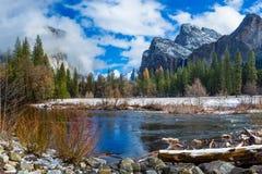 Opinión del valle Foto de archivo libre de regalías