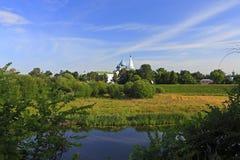 Opinión hermosa del país Fotos de archivo