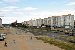 Opinión urbana de Gdansk. Fotografía de archivo libre de regalías