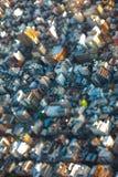 Opinião aérea da cidade do Tóquio, Japão do deslocamento da inclinação Imagens de Stock Royalty Free