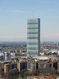 Opinião aérea de Milão Fotografia de Stock