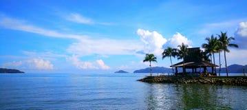 opinião bonita do mar Imagens de Stock Royalty Free