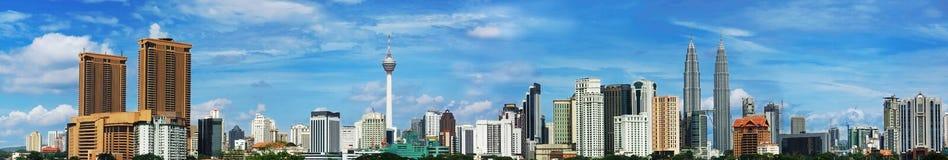 Opinião da cidade do quilolitro Foto de Stock Royalty Free