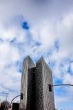 Opinião da rua de Hamburgo do centro, Alemanha Fotografia de Stock Royalty Free