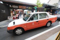 Opinião da rua de Kyoto em Japão Fotografia de Stock