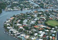 Opinião de Gold Coast Imagens de Stock Royalty Free