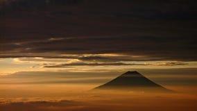 Opinião de Mt.Fuji Imagens de Stock Royalty Free