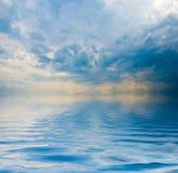 Opinião de oceano Imagens de Stock