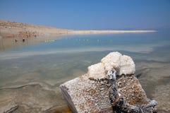 Opinião do Mar Morto Imagens de Stock