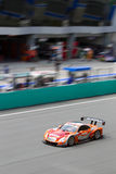 Opinião do retrato da equipe Le Mans de Lexus Foto de Stock Royalty Free