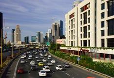 Opinião moderna de Tel Aviv Fotografia de Stock Royalty Free