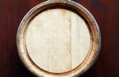 Opinião superior do tambor do carvalho Imagem de Stock Royalty Free