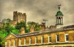 Opinião Windsor Castle sobre a escola de St George Foto de Stock