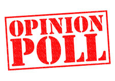 OPINION POLL Royalty Free Stock Image