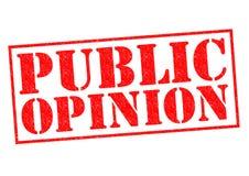 Opinion publique Photo libre de droits