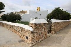 Opiniones agradables el santo Antonio de Ibiza Foto de archivo libre de regalías