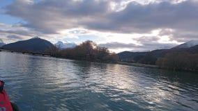 Opiniones asombrosas del río del dardo Imagen de archivo