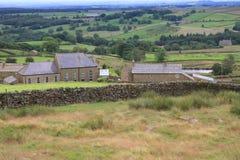 Opiniones coloridas del campo, North Yorkshire Fotografía de archivo libre de regalías