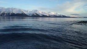 Opiniones costeras de Alaska almacen de metraje de vídeo