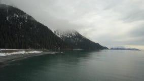 Opiniones costeras de Alaska metrajes