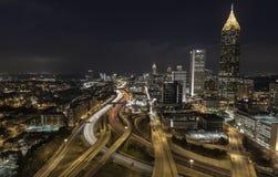 Opiniones de Atlanta Foto de archivo libre de regalías