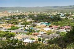 Opiniones de Curaçao a Gato Foto de archivo
