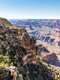 Opiniones de Grand Canyon Arizona fotos de archivo