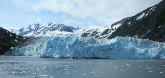 Opiniones de hielo-Alaska del glaciar Imagenes de archivo