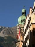 Opiniones de Innsbruck Imágenes de archivo libres de regalías