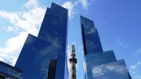 Opiniones de la ciudad de América Fotos de archivo